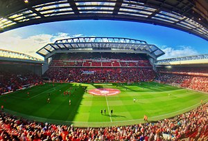 Rugby League International England v New Zealand...Anfield Sun 4th Novemeber